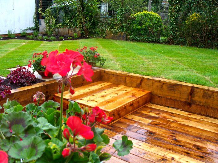 The Garden Design Factory Red Flowers