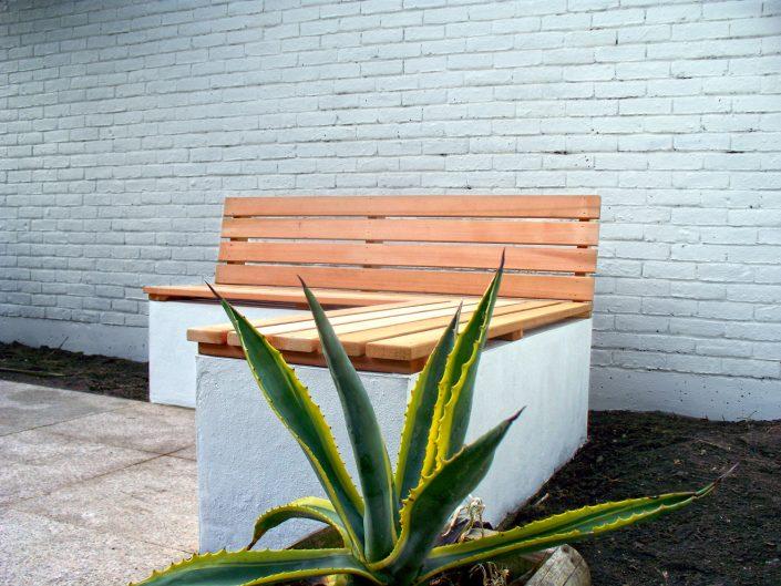 The Garden Design Factory Bench