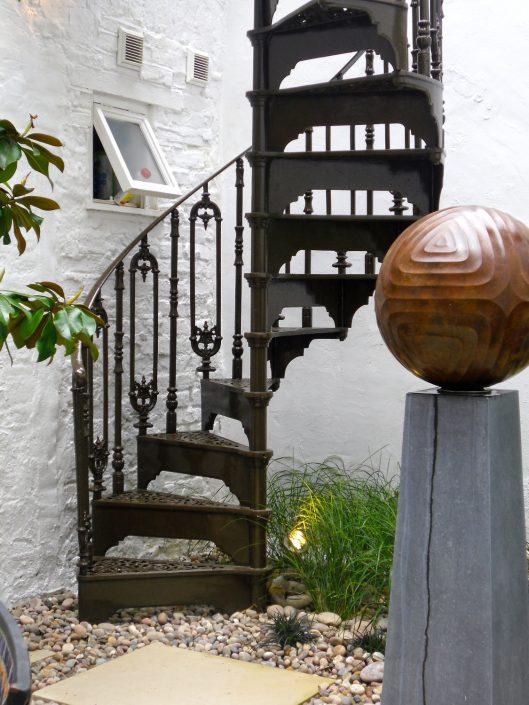 The Garden Design Factory Spiral Stairs