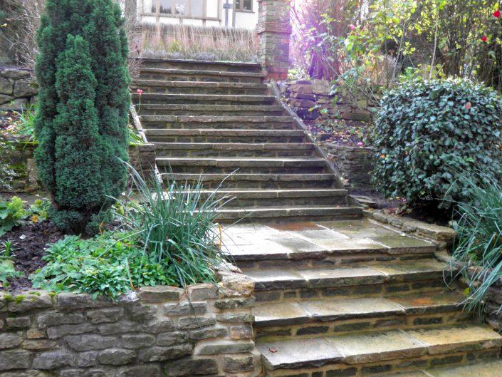 The Garden Design Factory Steps
