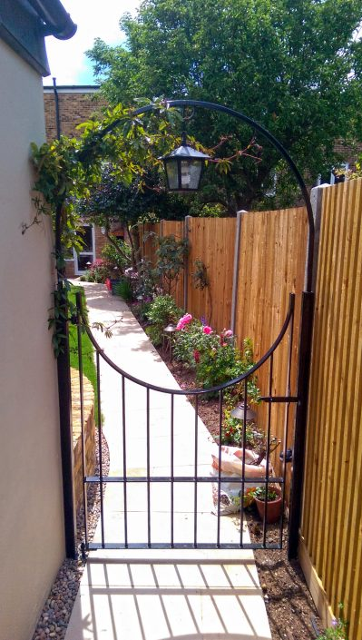 The Garden Design Factory Gate and fencing