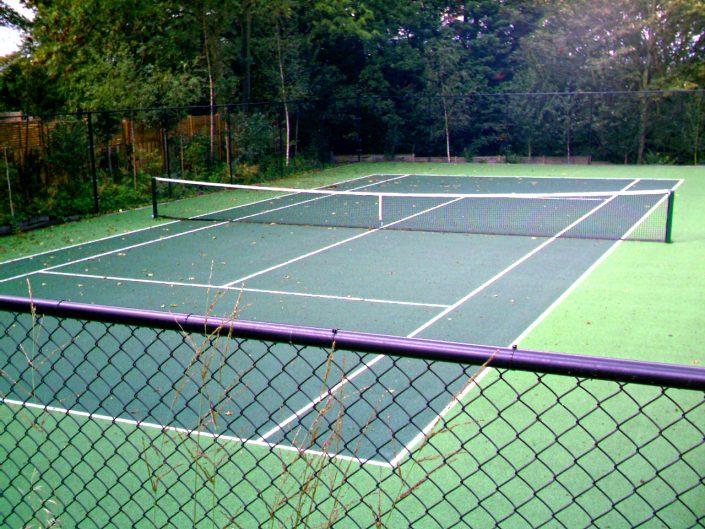 The Garden Design Factory Tennis Court